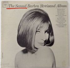 The Second Barbra Streisand Album LP Records Vinyl Album CL 2054 Columbia