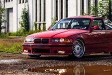schwarz glänzende Nieren Frontgrill 3er BMW E36 Cabrio VFL M3 salberk 3601