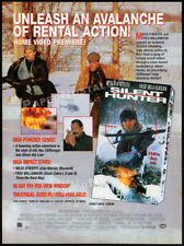 SILENT HUNTER__Orig. 1995 Trade print AD / promo__MILES O'KEEFE__FRED WILLIAMSON