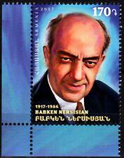 ARMENIA 2018-01 ART Cinema Theatre. NERSISIAN - 100 Actor. CORNER, MNH
