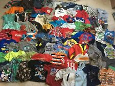 Huge Lot Of Toddler Boys Clothes Size 18 Month & 2T Clothing Lot Of 124 Pieces