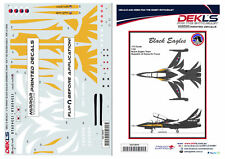 Decals T-50 Golden Eagle ROKAF - Black Eagles Aerobatic Team Decals 1/72 Scale