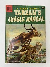 Vintage 1956 Dell Giant Comics TARZAN'S JUNGLE ANNUAL #5