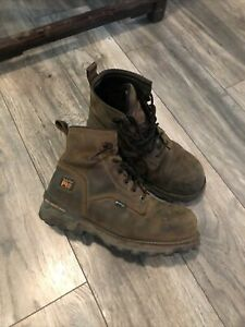 Timberland Pro Steel Toe Work Boots Size 9.5 Men's