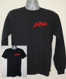 Japan t-shirt / sweatshirt / the blue nile roxy music David Sylvian band