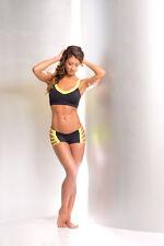Body Sexy Zona Apparel Ropa de Danza & Ejercicio Juego Negro/Amarillo en los USA