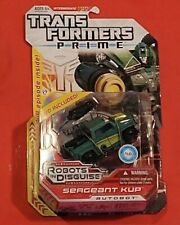 Transformers Prime Robots In Disguise Sergeant Kup Deluxe Class Brand New