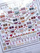 OWLS SAMPLER COUNTED CROSS STITCH KIT by RIVERDRIFT HOUSE