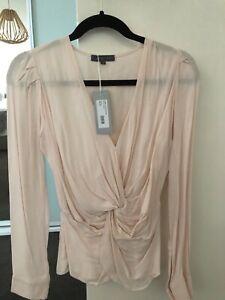 bnwt size 8 Sheike sorbet knot blouse