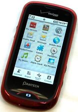 Pantech CDM8992 Hotshot Red Verizon Cell Phone Touch Screen Bluetooth Camera -C-