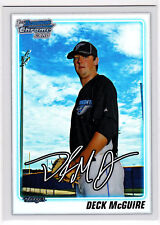 Deck McGuire Toronto 2010 Bowman Draft Picks Refractor