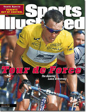 July 24, 2000 Lance Armstrong Cycling Sports Illustrated NO LABEL 1