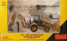1/50 Norscot CAT Caterpillar 420E Backhoe Loader Die Cast #55143