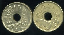 ESPAGNE 25 pesetas 1995