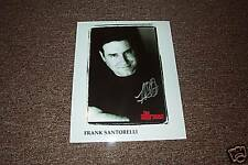 Frank Santorelli The Sopranos  Autographed 8x10 Photo 3