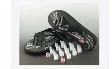 Nails in Motion Nail Protector Guards and Free Flip Flops Size 5/6 (M) New