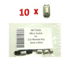 Micro switch remote key Chiave MERCEDES OPEL NISSAN PEUGEOT ALFA ROMEO Button
