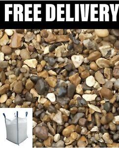 20mm Gravel Stone Shingle Bulk Bag 850kg+/- 🌟CHEAPEST ON EBAY & ONLINE🌟