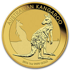2016 Australia 1 oz Gold Kangaroo BU - SKU #92695