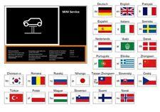 Original MINI Serviceheft MINI Modelle Service Heft in 25 Sprachen 01492601595