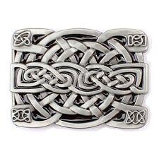 Vintage Celtic Knot Men's Belt Buckle Western Cowboy Native American (CLT-02)