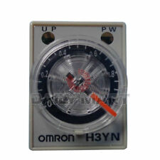 OMRON H3YN-2 TIME DELAY RELAY SOLID STATE TIMER SOCKET MOUNTING 100-120VAC NEW