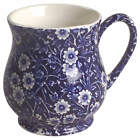 Staffordshire Calico Blue  Mug 5865912