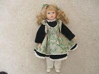 "Seymour Mann The Connoisseur Doll Collection 17"" Porcelain Doll"