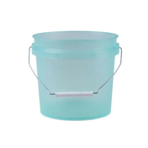 Leaktite Translucent Green 1 Gallon Pail with White Lid