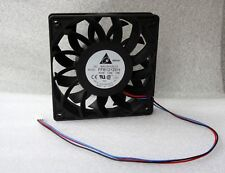 Delta FFB1212EH-F00 120mm x 25mm Extreme High Airflow Fan 150 CFM 3 Pin 2 Ball