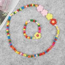 1pc Wholesale Lots Wooden Wood Friendship Child Bracelet Necklace Jewelry Kit AU