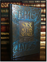 Norse Myths & Tales New Deluxe Hardcover Mythology Viking Age Loki Odin Thor +++