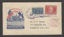 Panama CRISTOBAL Maiden Voyage Ship cover 1939 Curie Stamp
