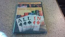 All In: The Poker Movie (DVD, 2012) Brand New / Sealed