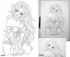 Artist Medium (up to 36in.) Animation Art Drawings