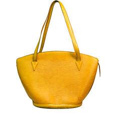 Authentic Louis Vuitton Hand Bag M52269 Saint Jacques Yellows Epi use 4-22