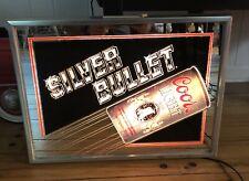 Vintage Coors Light Silver Bullet Lighted Bar Sign (1985)