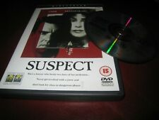 SUSPECT USED 1987 CHER LIAM NEESON COURTROOM MYSTERY THRILLER UK DVD.