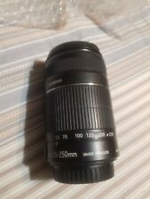 Canon EF-S 55-250mm F4-5.6 IS  Lens for Canon SLR Cameras