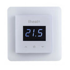Heat It 5430499 - Wall Thermostat, white