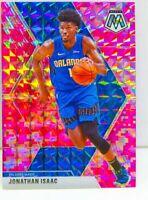 Jonathan Isaac 2019-20 NBA Panini CAMO PINK MOSAIC PRIZM Card #200 Orlando Magic