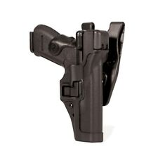 Blackhawk Black Serpa Left Hand Level 3 Holster Fits Glock 17/19/22/23/31/32
