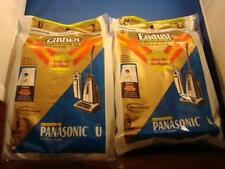 Two Packs of 3 Panasonic Type U Endust Microfilter Vacuum Bags Free Shipping