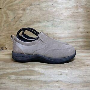 LL Bean Comfort Mocs (254540), Men's Size 7, Light Tan