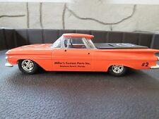 1959 Chevrolet El Camino Miller's Custom Parts Daytona Beach ERTL 1:24 Die Cast