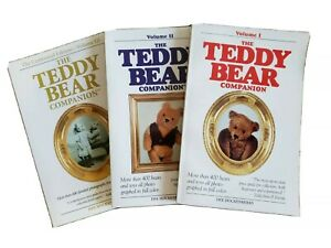 THE TEDDY BEAR COMPANION VOLUMES 1, 2 & 3 PRICE GUIDE WITH FULL COLOR PHOTOS