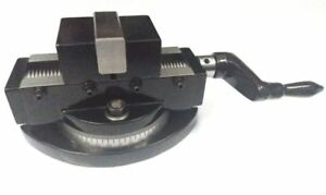 """Self Centering Milling Machine Vice with Swivel Base 2"""" (50 MM)"""