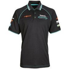 POLO Shirt Jaguar Racing Formula E Panasonic Team NEW! Poloshirt Black Cyan