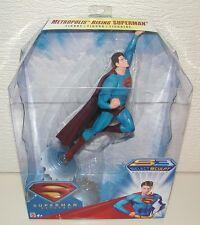 Figurine - Superman Returns Sobre Metropolis (Mattel S3 Select Sculpt J7163)