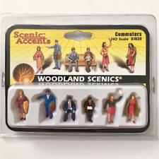 Woodland Scenics – Scenic Accents – HO Scale – Commuters Plastic Figures